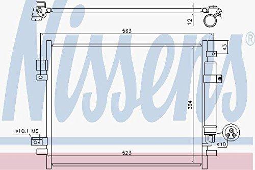Nissens Air Con Condenser 940789