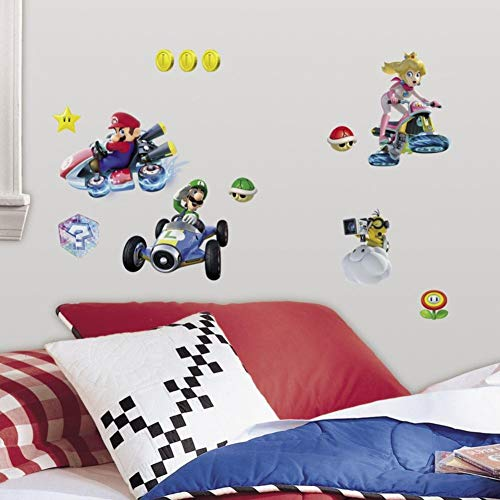 RoomMates Ninetendo Mario Kart 8 Peel And Stick Wall Decals by RoomMates (Image #1)