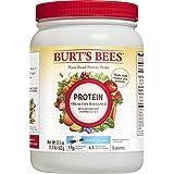 Burt's Bees Plant-Based Protein Powder, Healthy Radiance - Vegetarian Pea Protein, 21.5oz, Vanilla