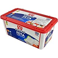 Dodoni Feta Cheese in brine Premium Authentic Greek Feta Cheese 7.7lb