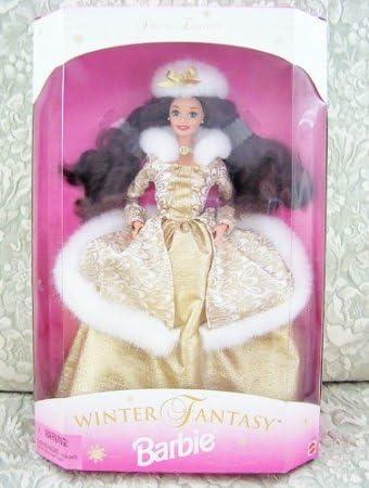 Sam/'s Club Exclusive New 1996 Winter Fantasy Barbie 2 Brunette
