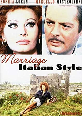 Amazon com: Marriage Italian Style: Sophia Loren, Marcello