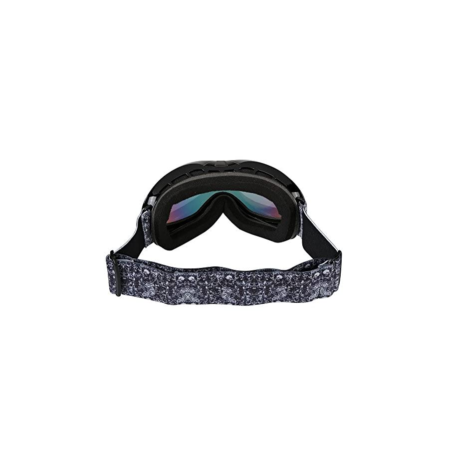 Kids Ski Goggles, Snowboard Goggles AKASO Explore Oregon Snow Goggles for Youth, Kids & Teenagers, Anti Fog, 100% UV Protection, Double Layer Spherical Lenses, Helmet Compatible