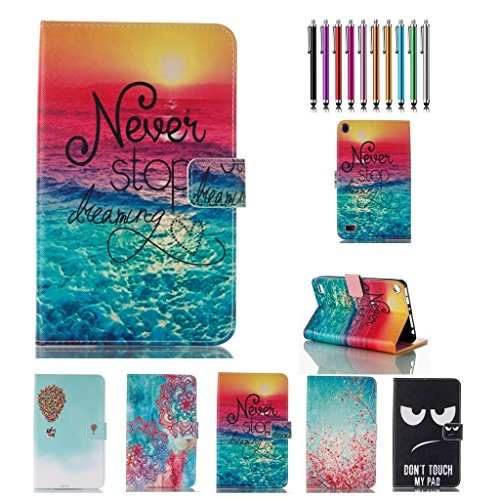 fire-7-2015-casekingcool-never-stop-dreaming-printed-pu-leather-stand-wallet-case-cover-for-amazon-f
