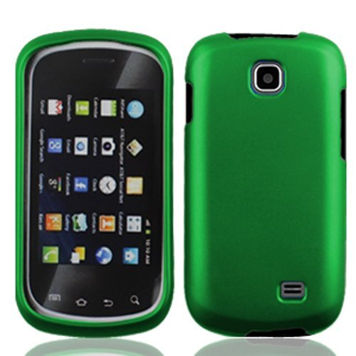 Bundle Accessory for At&t Samsung Galaxy Appeal I827 - Green Hard Case Protector Cover + Lf Stylus Pen
