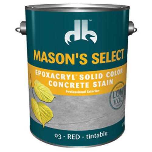 (Duckback Products SC-6203-4 Gallon Red Concrete Stain)