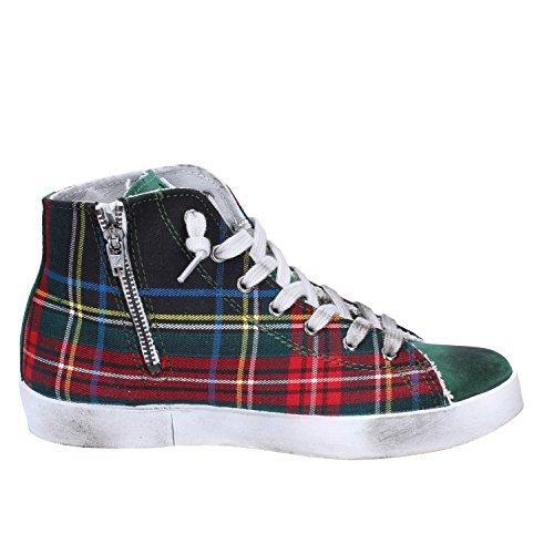 2Star ,  Damen Hohe Sneaker Grün