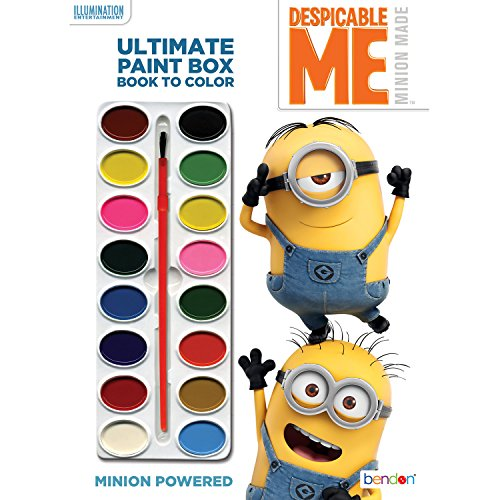 Bendon Despicable Me Minion Made Ultimate Paint Box & Coloring Book (Pics Of Minions From Despicable Me 2)
