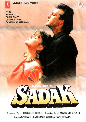 Download Sadak (1991) HDRip 720p Hindi AVC ACC - LatestHDMovies Torrent