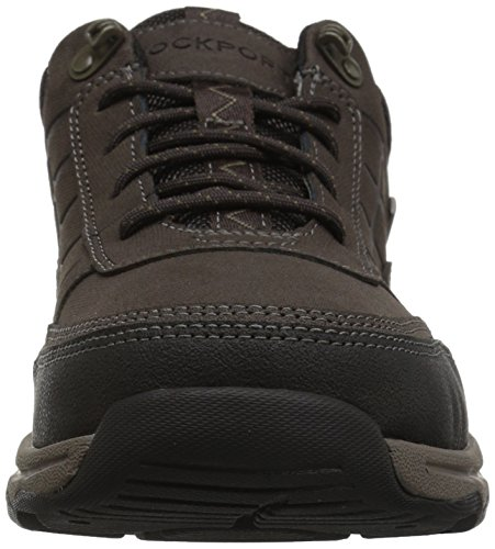 Rockport Mens Wayde Stänkskärm Oxford Mode Sneaker Mörk Bitter Choklad
