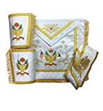 Masonic SCOTTISH RITE 33rd Degree A.A.S.R Set (Wings Up) MS005
