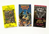 Classic Fantasy Adventures Video Collection: Mighty Joe Young; Godzilla Vs. Gigan; Jungle Book