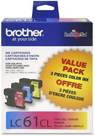 Brother MFC-J220 3-Color Ink Combo Pack OEM
