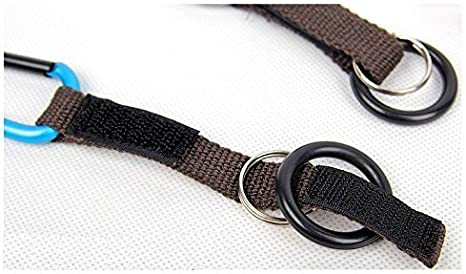 CellCase Portable Water Bottle Drink Buckle Hook Holder Clip Key Chain Ring Carabiner for Camping Hiking Traveling