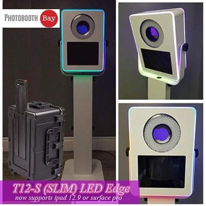 Amazon com : ATA Photobooths T12-S Slim LED Edge Photo Booth
