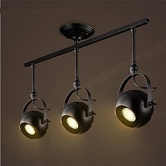 Wohnzimmer Schlafzimmer Studie Lampen Luft Retro/Kreativwirtschaft Spuren  Drei LED Leuchten