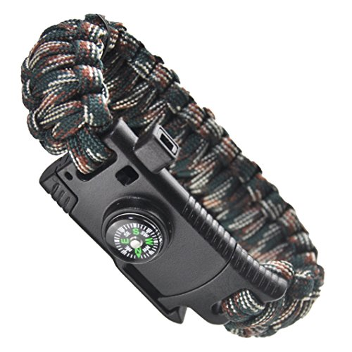 Survival-Bracelet-Paracord-BraceletOutdoors-Survival-Paracord-Bracelet-With-Compass-Fire-Starter-And-Whistle-Emergency-Survival-Kit-Easymoo-camouflage
