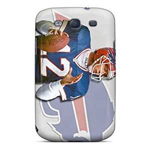 Protector Hard Phone Cover For Samsung Galaxy S3 (irm1115oHBE) Allow Personal Design Stylish Buffalo Bills Image hjbrhga1544