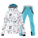 Mous One Women's Waterproof Ski Jacket Colorful