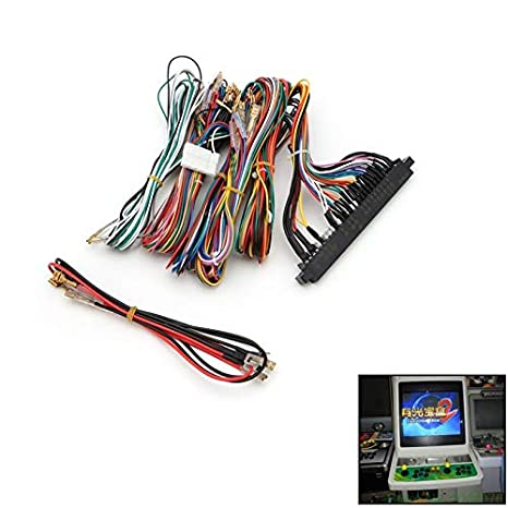 amazon com fetcus arcade jamma board machine wiring harness  installing a multicade upgrade kit (for