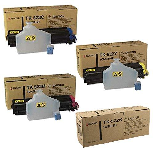 Kyocera Mita TK522 Standard Yield Toner Cartridge Set