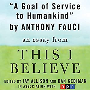 A Goal of Service to Humankind Audiobook