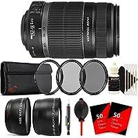 Canon EF-S 55-250mm f/4-5.6 IS II Lens for Canon EOS 1300D 1200D 700D with Accessory Kit