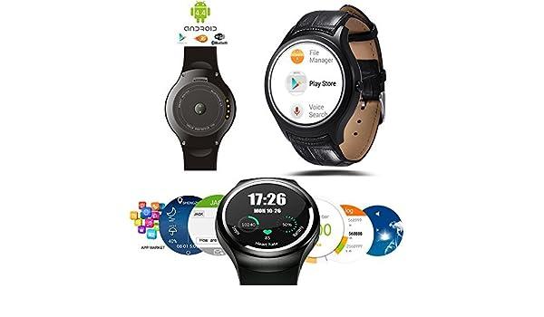 Indigi® ALLWeather Android 4.4 Smart reloj teléfono móvil (3G + ...