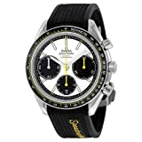 omega rubber watch - Omega Men's 32632405004001 Analog Display Swiss Automatic Black Watch