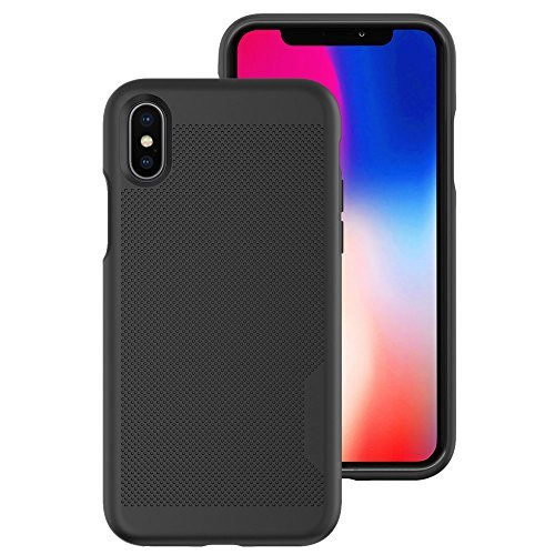 Body Glove Mirage Series Case for iPhone X - Space Gray/Black - 9624801 (Body Case)