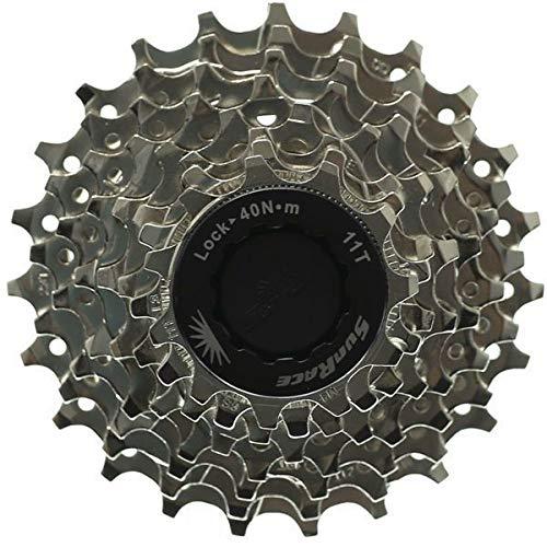 SunRace 8 Speed Road Bike Cassette (Shimano or Sram) Compatible 11-23