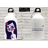 Botella de aluminio | Catrina