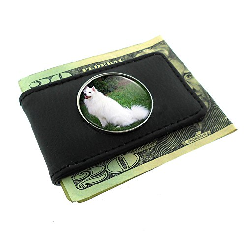 dog Money Clip Leather ()