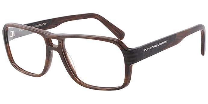Amazon.com: Porsche Design Rx P 8217 Prescription Eye Glasses Frame ...