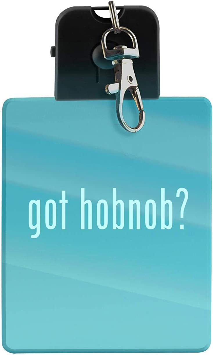 got hobnob? - LED Key Chain with Easy Clasp