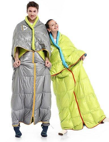 Schlafsack ( Hellgrau/Hellgrün ) - Atmungsaktivität/UV-resistent/Daunendicht/warm halten/rechteckig - Polyester