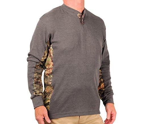 mossy oak thermal shirt for men - 1