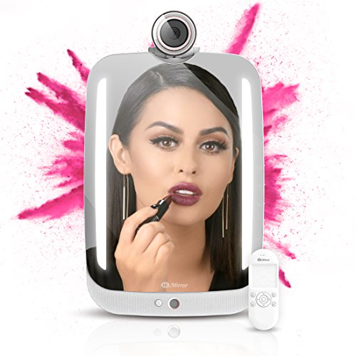 HiMirror Plus - 2nd generation beauty smart mirror with LED makeup lights, your beauty consultant skin analyzer, innovative makeup mirror with AR virtual - Virtual On Try