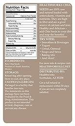 Healthworks Chia Seeds Raw Pesticide-Free, 1lb