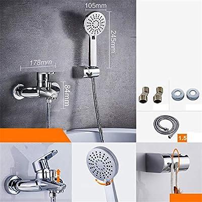 KaO0YaN-Shower Juego De Ducha Baño Simple Válvula De Mezcla De ...