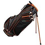 Hot-Z 2017 Golf 3.0 Stand Bag, Orange/Black/Gray