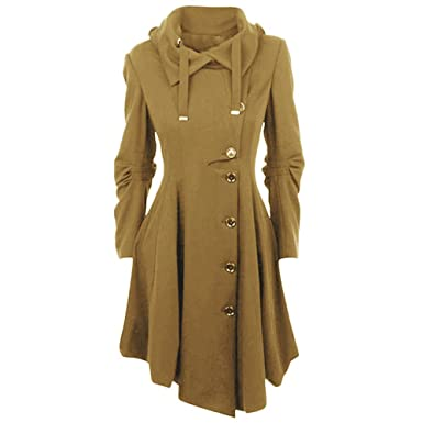 Manteaux Coat Manteau Trench Veste Laine laamei Coat Parkas Femme gf0WqnWa8