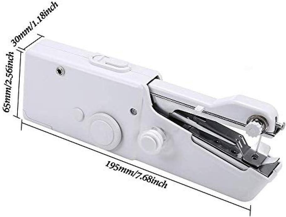 Máquina De Coser Portátil De Mano Mini Máquina De Coser Handy ...