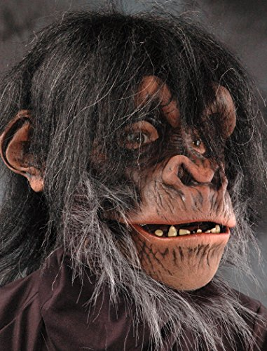 Zagone Studios Men's Super Action Chimp , Brown, Adult One Size -