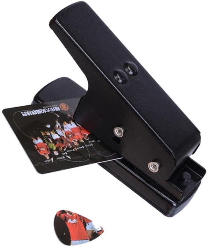 Púa para guitarra púa profesional Plotter para tarjetero cortador para DIY herramienta Proprio Pick regalo para guitarra y ukelele negro de yxaomite: Amazon.es: Instrumentos musicales