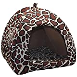 Cute Soft Strawberry Style Pet Dog Cat Kitten Puppy House by PrettyPet! House Bed With Warm Plush Pad. Pet Supplies for your Dog and Cat. Cheer your pets and keep them in comfort! Review