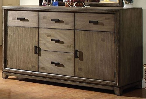 Furniture of America CM7615D Antler Natural Ash Dresser Drawer Chest