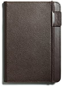 "Kindle Leather Cover, Chocolate Brown (Fits 6"" Display, 2nd Generation Kindle)"
