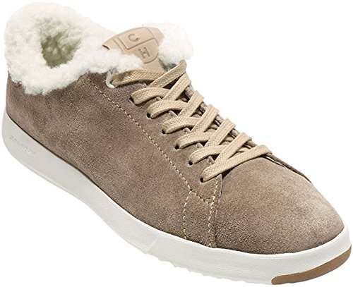 Tennis Warm Cole Grandpro Leather Women's OX Haan Fashion Lace Sand Sneaker wq1qZtz