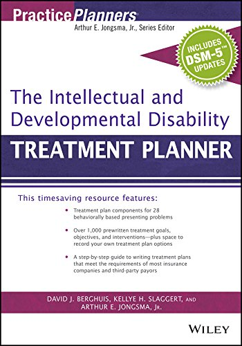The Intellectual and Developmental Disability Treatment Planner, with DSM 5 Updates (PracticePlanners)